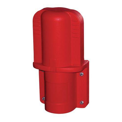 Skrzynka plastikowa na gaśnicę, 2 kg