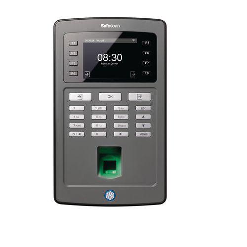 System rejestracji czasu pracy na odciski palców lub chip