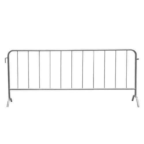 Metalowa barierka mobilna, długość 250 cm