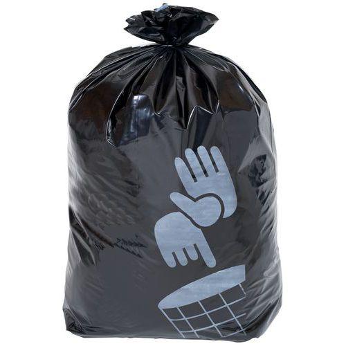 Worki na śmieci Manutan, 160 l, grubość 90 mikr., 50 szt.