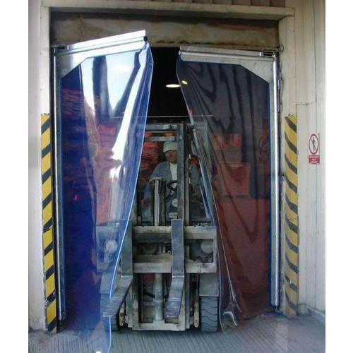Brama wahadłowa do miejsc o dużej intensywności eksploatacji, szerokość 220–239 cm