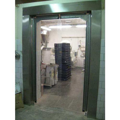 Brama wahadłowa do miejsc o niewielkiej intensywności eksploatacji, szerokość 151–175 cm