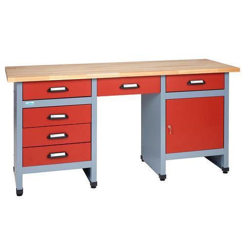 Stół warsztatowy Monti, 84 x 170 x 60 cm