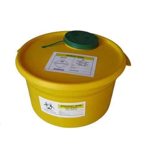 Pojemniki na odpady sanitarne, średnie