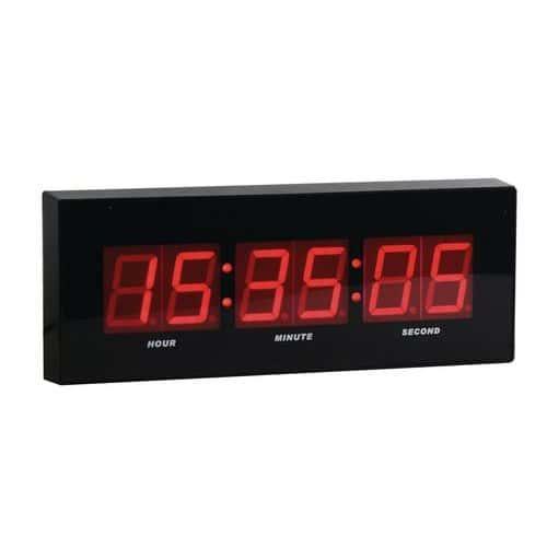 Zegar cyfrowy LED DG2 Manutan, szerokość 31 cm