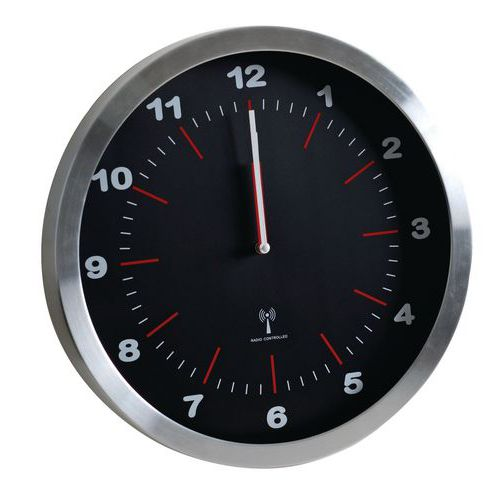 Zegar analogowy RS2, autonomiczny DCF, średnica 40 cm