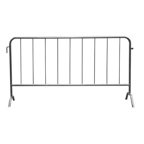 Metalowa barierka mobilna, długość 200 cm