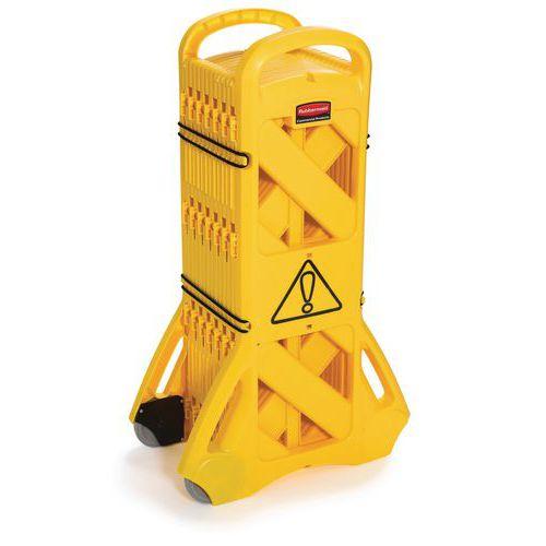 Przenośne barierki ostrzegawcze Rubbermaid Barricade