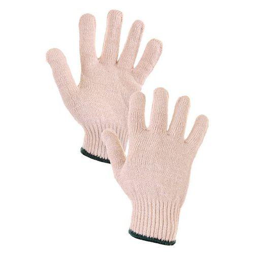 Rękawice bawełniane CXS, białe