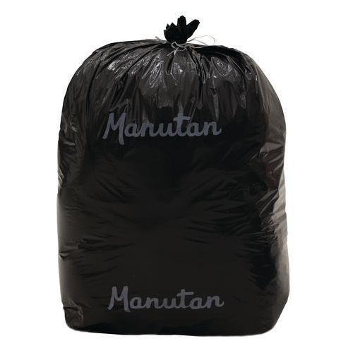 Worki na śmieci Manutan, 200 l, grubość 50 mikr., 100 szt.