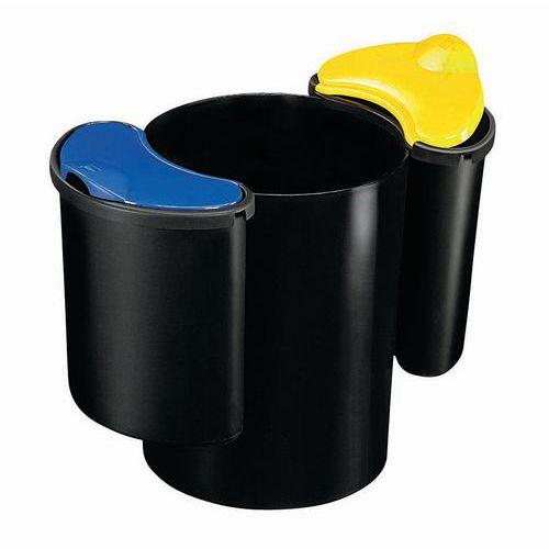 Plastikowy Kosz Na śmieci Segregowane Pojemność 16 2 X 7 L