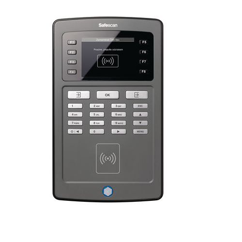 System rejestracji czasu pracy na kartę lub chip