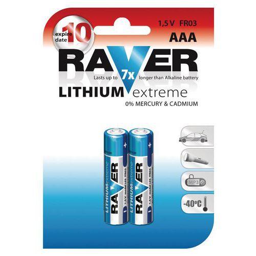 Baterie litowe AAA