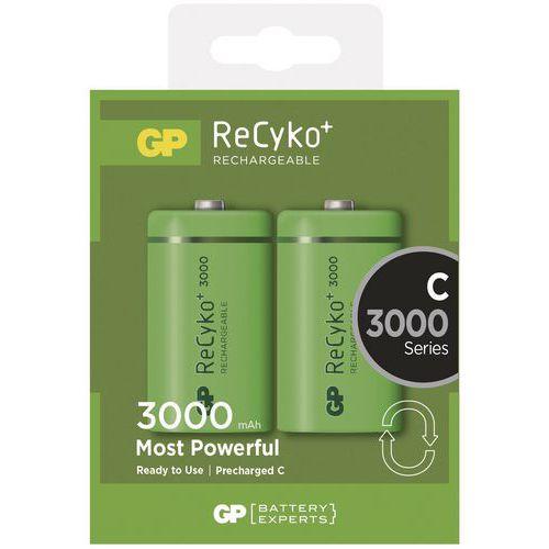 Akumulatory GP ReCyko+ 3000 mAh HR14 (C)