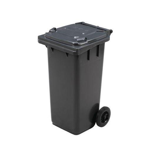 Plastikowe pojemniki zewnętrzne Manutan, na odpady segregowane, pojemność 120 l