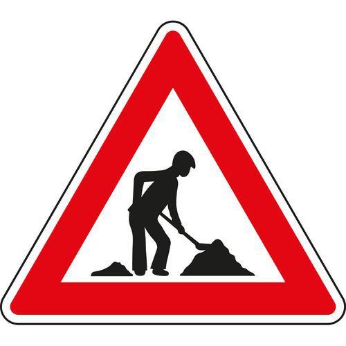 Znak drogowy Roboty (A15)