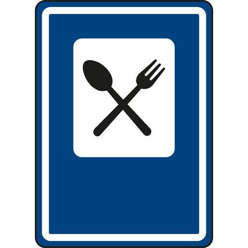 Znak drogowy Restauracja (IJ11a)