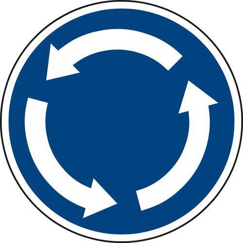 Znak drogowy Rondo (C1)