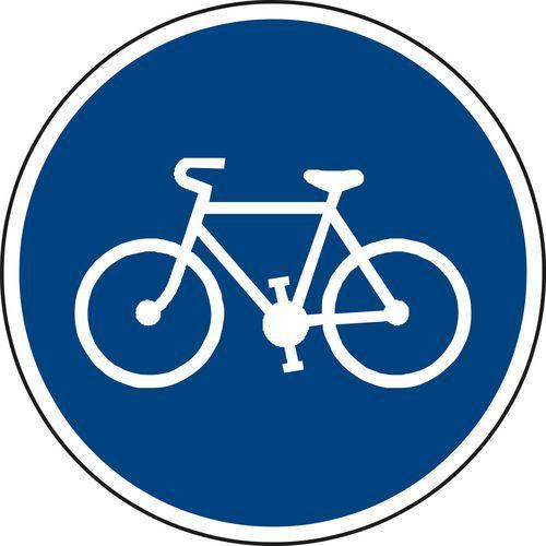 Znak drogowy Ścieżka dla rowerzystów (C8a)