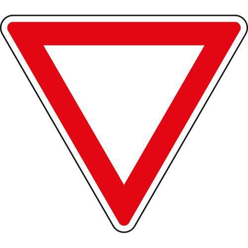 Znak drogowy Daj pierwszeństwo jazdy (P4)