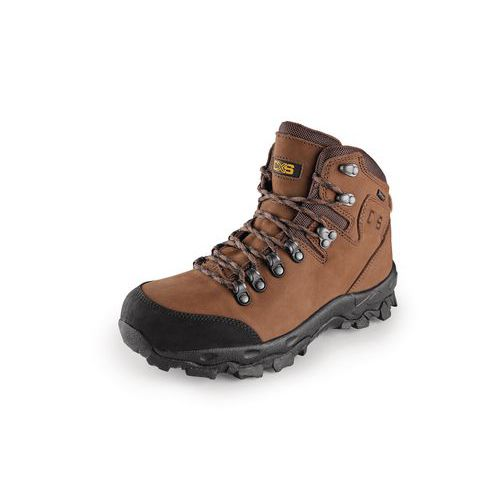 Trekkingowe buty skórzane za kostkę CXS Gotex Blanc, brązowe