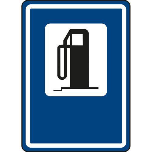 Znak drogowy Stacja benzynowa (IJ7)