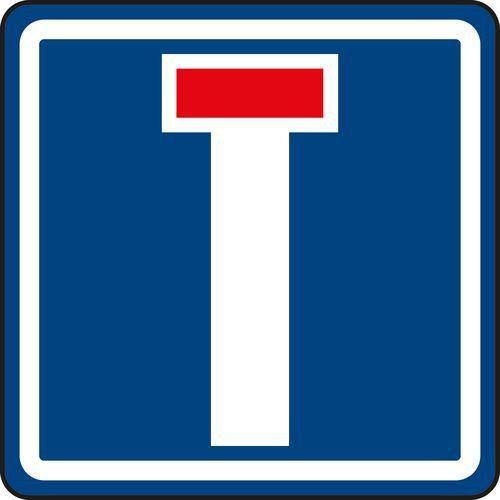 Znak drogowy Ślepa uliczka (IP10a)