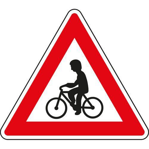 Znak drogowy Rowerzyści (A19)