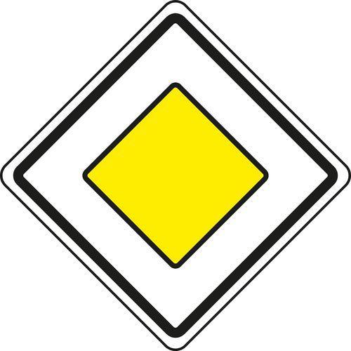 Znak drogowy Główna droga lądowa (P2)