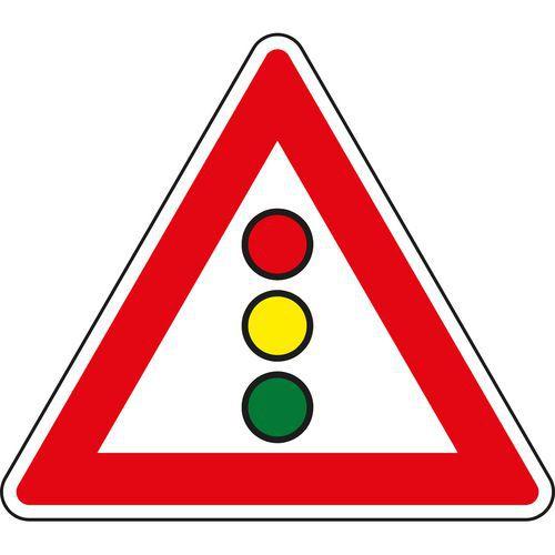 Znak drogowy Sygnały świetlne (A10)