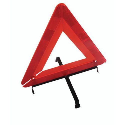 Plastikowy trójkąt ostrzegawczy Manutan