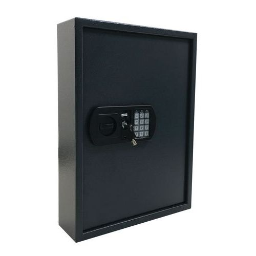 Szafka na klucze Manutan z zamkiem elektronicznym, 100 haczyków