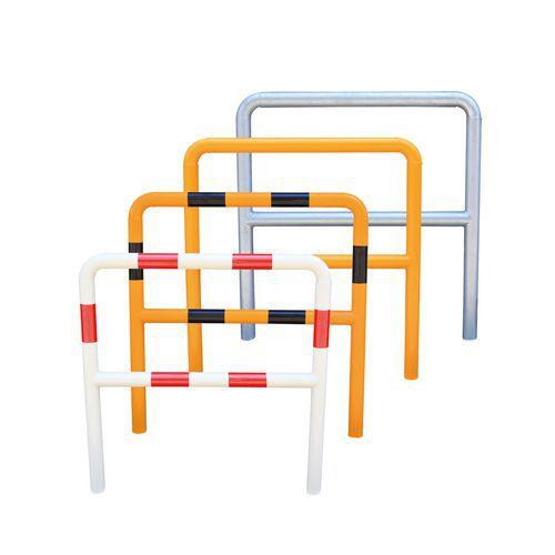 Metalowe barierki Manutan, wysokie, długość 100 cm