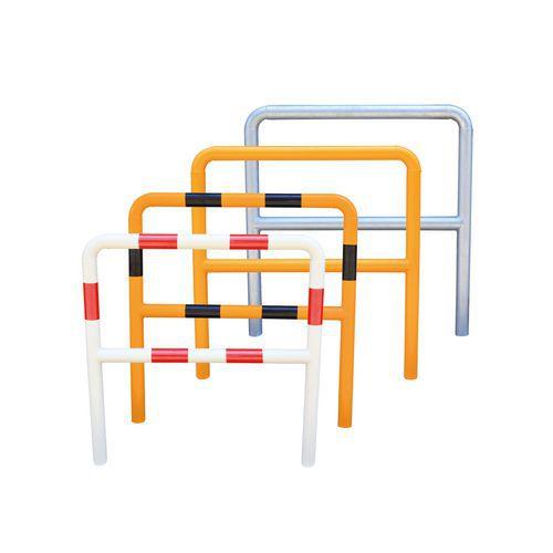 Metalowe barierki Manutan, wysokie, długość 200 cm