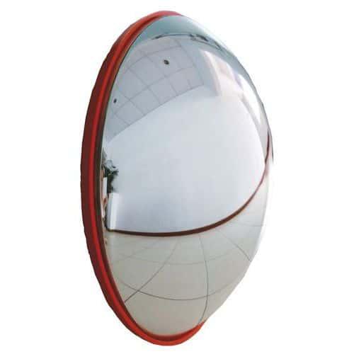 Kontrolne lustra paraboliczne, półkula