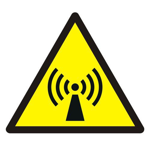 Ostrzeżenie przed promieniowaniem niejonizującym