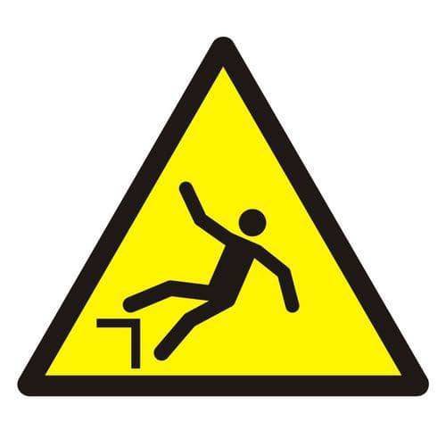 Ostrzeżenie przed spadnięciem (upadkiem)