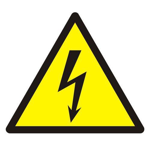 Ostrzeżenie przed napięciem elektrycznym