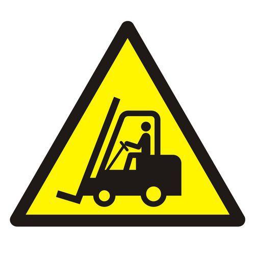 Ostrzeżenie przed urządzeniami do transportu poziomego