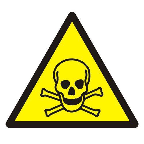 Ostrzeżenie przed materiałami toksycznymi