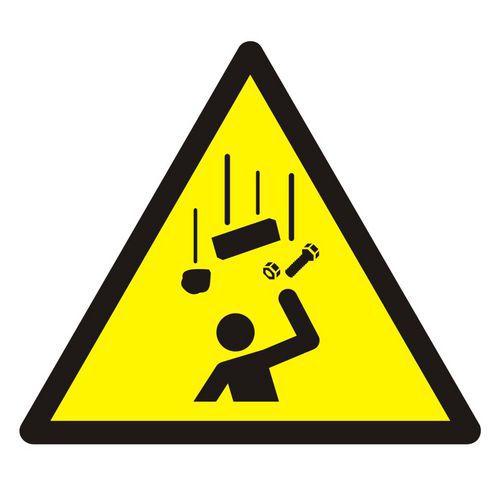 Ostrzeżenie przed spadającymi elementami
