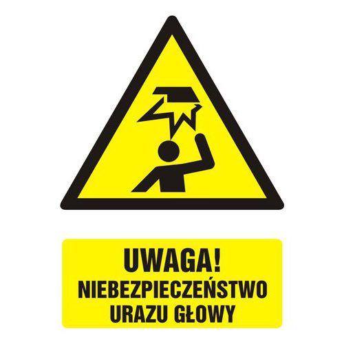 Uwaga! niebezpieczeństwo urazu głowy