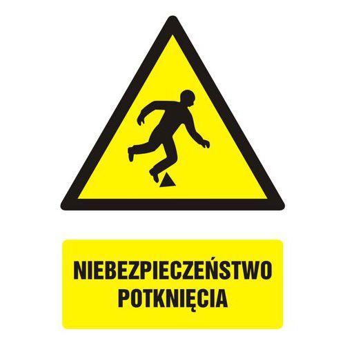 Niebezpieczeństwo potknięcia