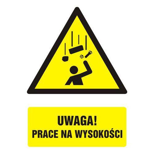 Uwaga! prace na wysokości