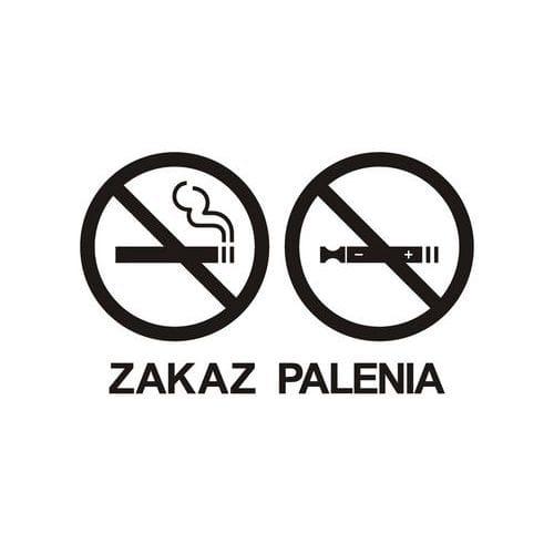 Zakaz palenia tytoniu i papierosów elektronicznych 2