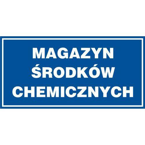 Magazyn środków chemicznych 20 X 40 nieświec. płyta sztywna PCV