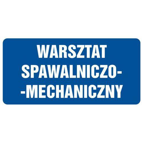 Warsztat spawalniczo-mechaniczny 20 X 40 nieświec. płyta sztywna PCV
