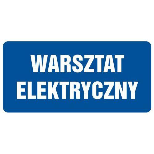 Warsztat elektryczny 20 X 40 nieświec. płyta sztywna PCV