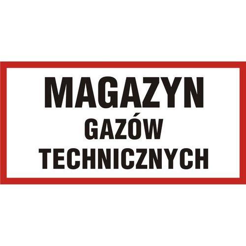 Magazyn gazów technicznych 20 X 40 nieświec. płyta sztywna PCV