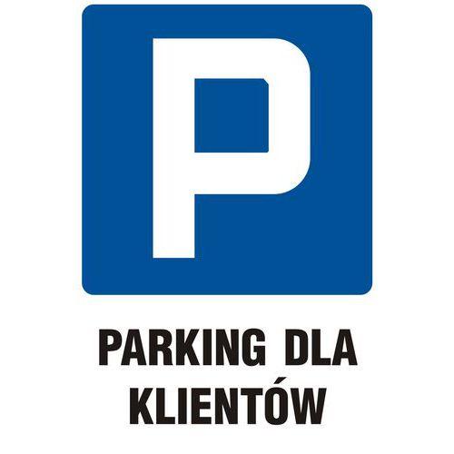 Parking dla klientów 33 X 50 nieświec. płyta sztywna PCV
